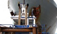 Berthing a ship